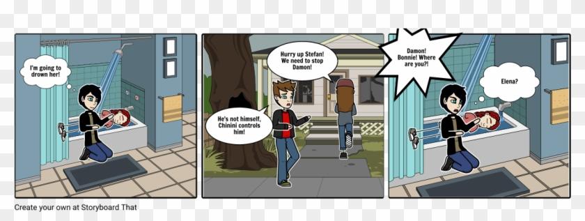 Vampire Diaries - Cartoon Clipart #3937375