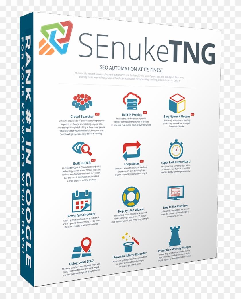 Senuke Tng - Search Engine Optimization Clipart #3939494