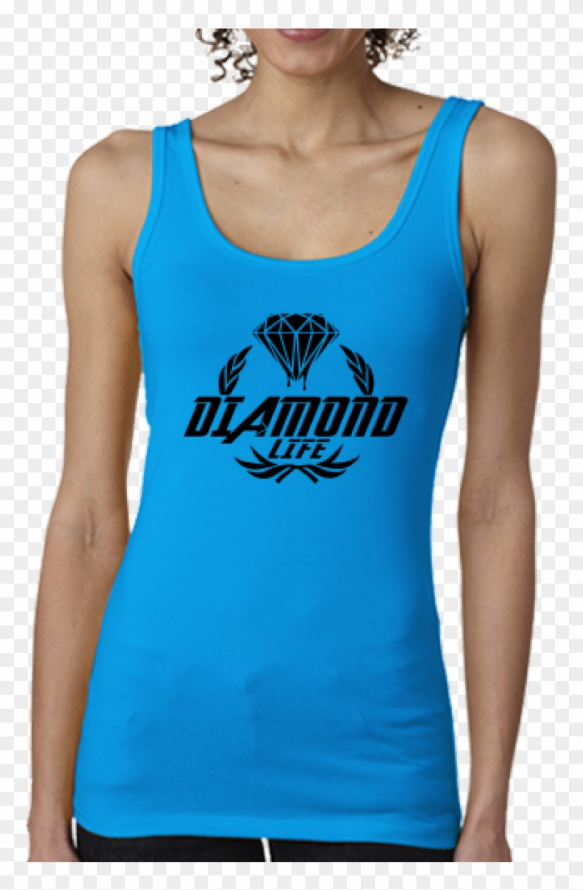 Color - Turquoise - Next Level Womens Spandex Jersey Tank Envy Clipart #3940291