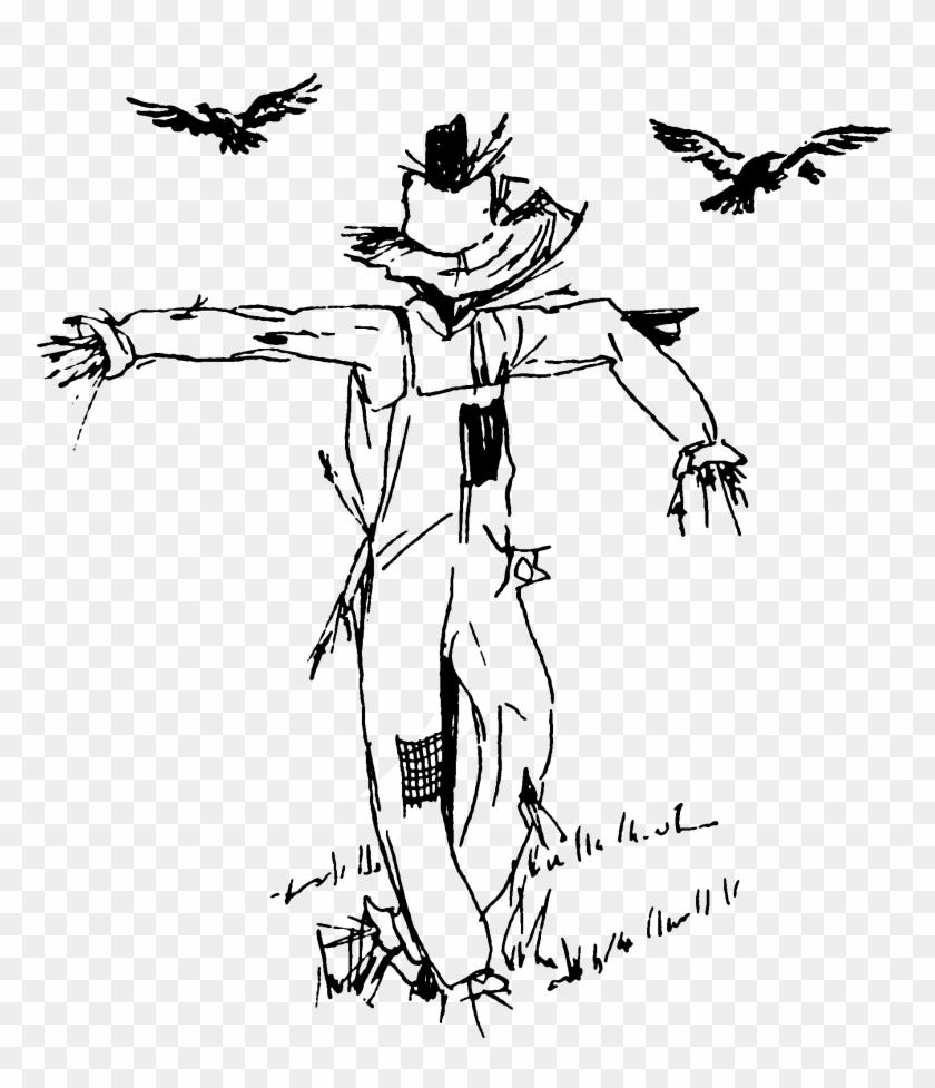 Scarecrow Coloring Page Scarecrow Coloring Pages Save Turkeys With ...   977x840