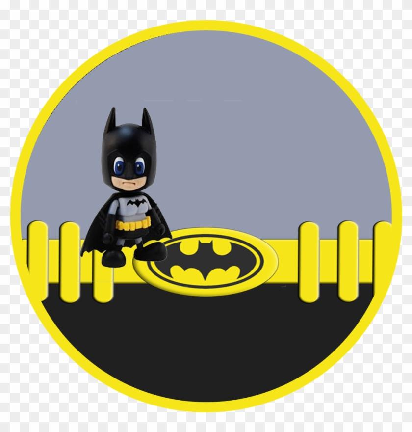 Toppers O Etiquetas Para Imprimir Gratis De Batman Etiquetas De