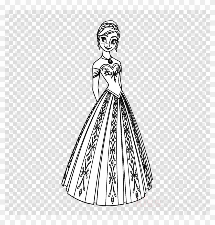- Frozen Coloring Pages Clipart Anna Elsa Olaf - Fifa World Cup Png  Transparent Png (#3954157) - PikPng
