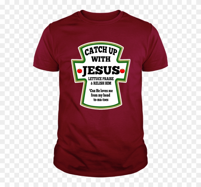 Catch Up With Jesus Mens T-shirt - Active Shirt Clipart #3966112
