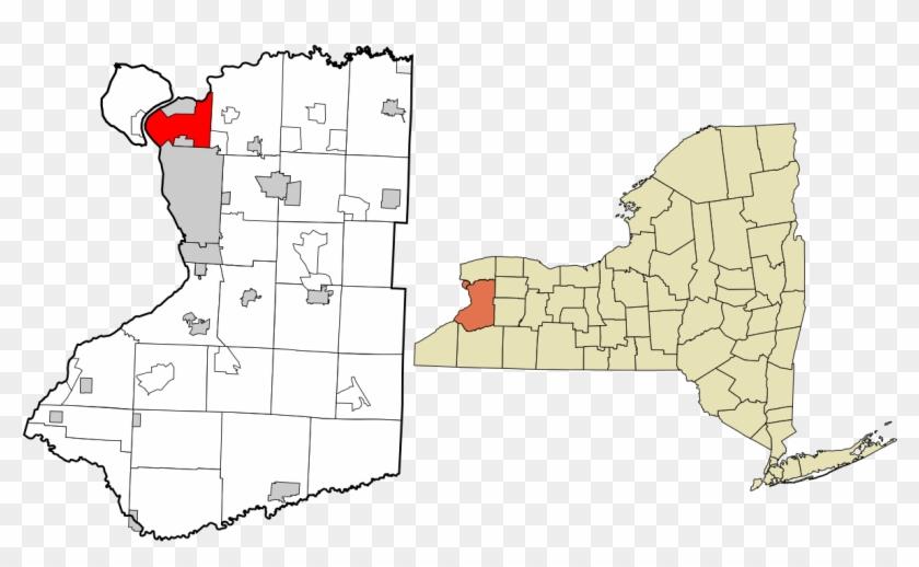 Map Of Erie County Ny Elegant Tonawanda Town New York - Town Of Clarence Ny Map Clipart #3971958