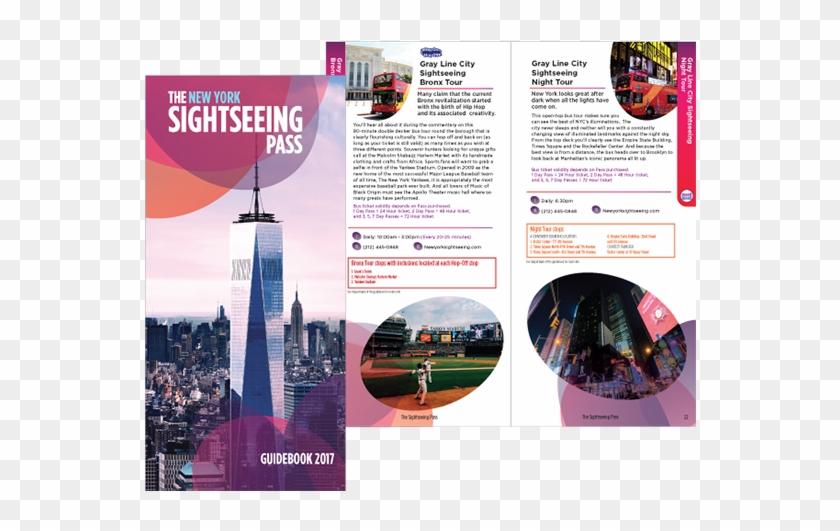 New York Subway Map - New York City Travel Brochure Pdf Clipart #3972016