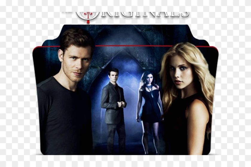 Folder Icons The Vampire Diaries - Originals Poster Hd Clipart #3974247
