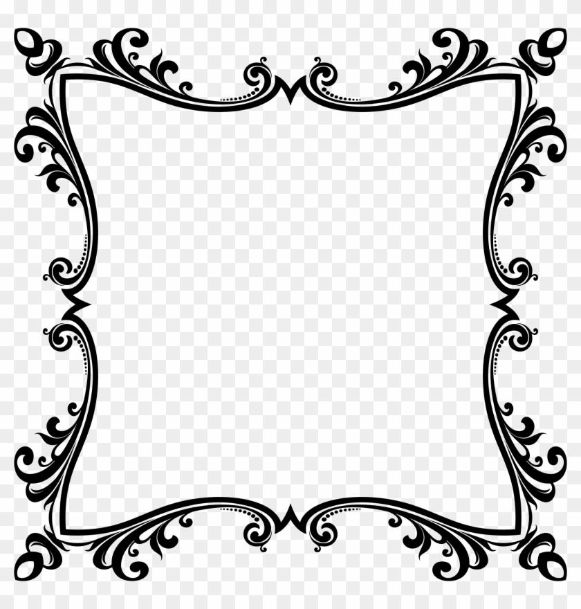 Borders And Frames Computer Icons Flower Floral Design - Simple Vine Border Design Clipart #3974644