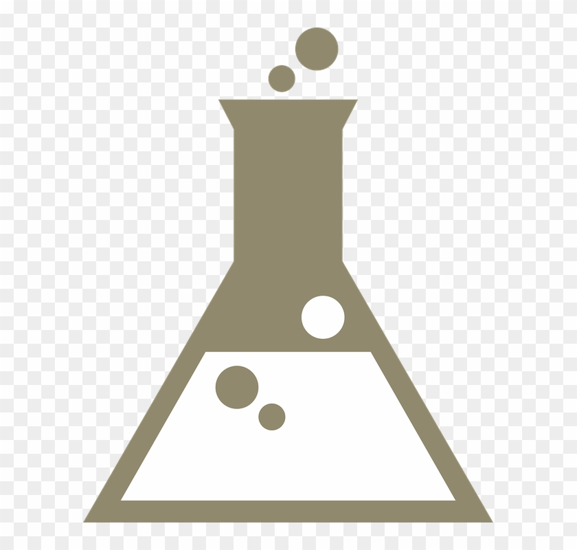 Beaker, Bubbles, Chemistry, Reaction - Chemistry Beaker Vector, HD Png Download #3976917