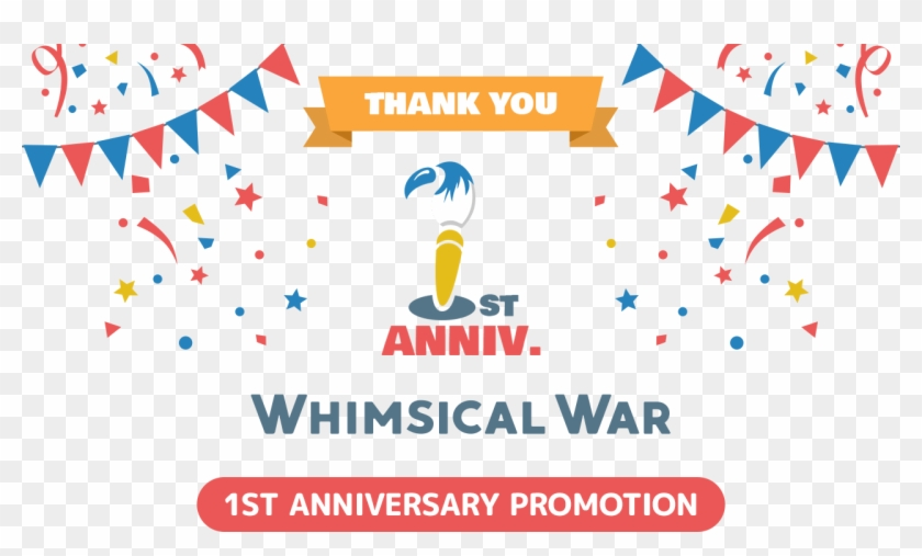 Thank You For Playing Whimsical War - T Shirt Print Design For The Year Clipart #3983467
