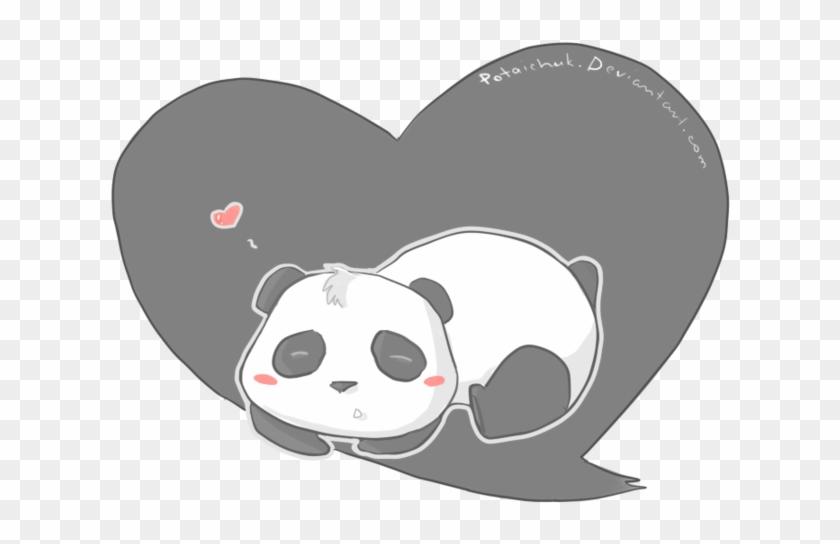 Panda Love, Red Panda, Baby Panda Bears, Pandas, Jul, - Heart Clipart #3985876