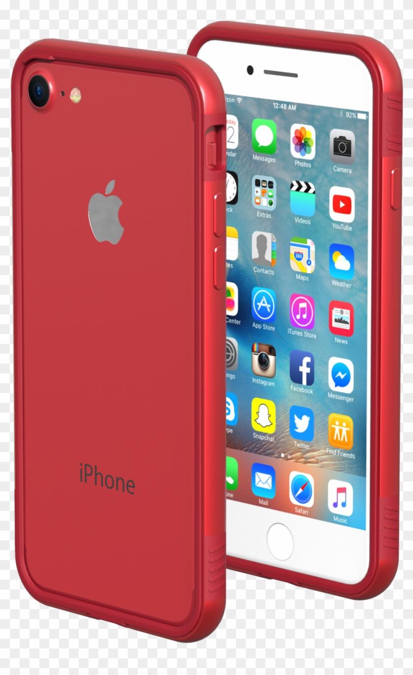 Iphone 7/8 Cases - Iphone 7 Plus Cases Red Clipart #3988540