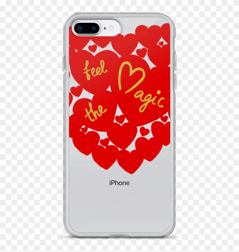 Feel The Magic And Believe Love, Anniversary, Christmas - Mobile Phone Case Clipart #3988793
