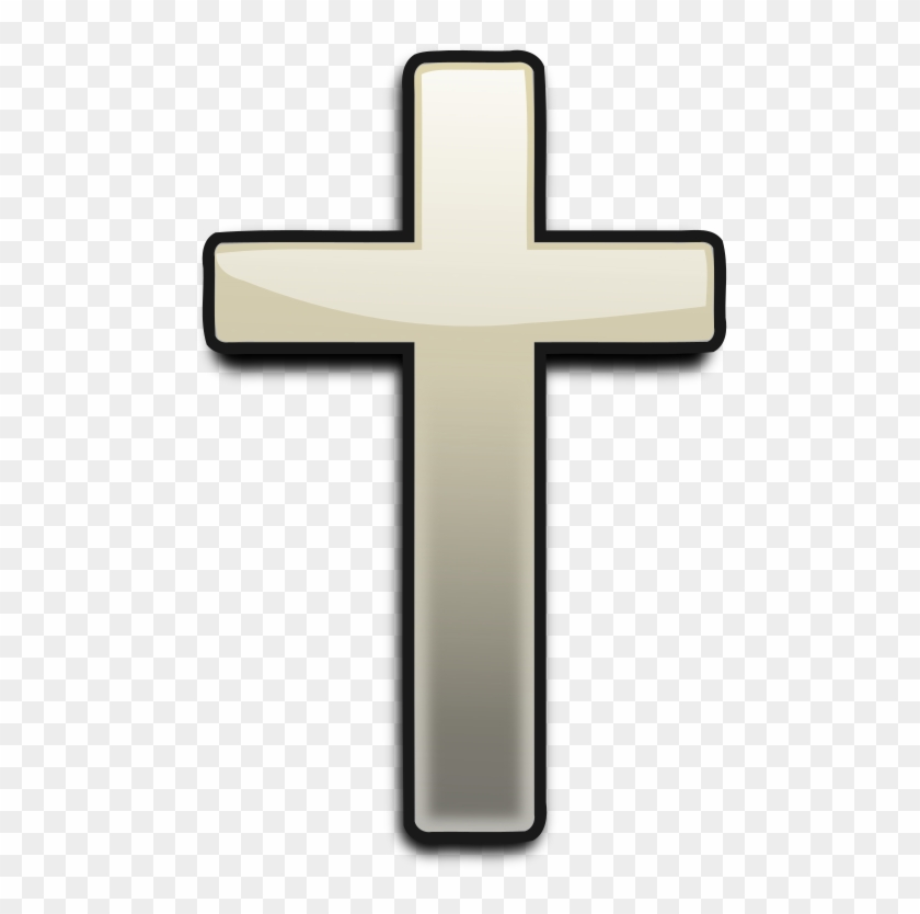 Religious Vector Art - Cross Clipart Transparent Background - Png Download #3989481