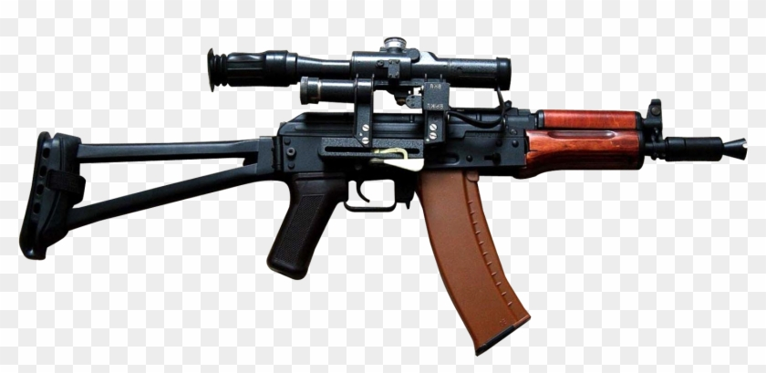 Gun Png Ak 47, Transparent Png #45402
