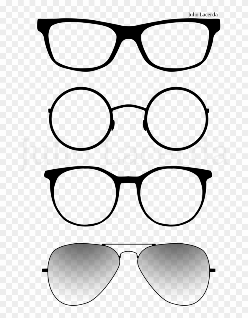 The Gallery For > Harry Potter Glasses Clipart - Transparent Deviant Sun Glasses, HD Png Download #46029