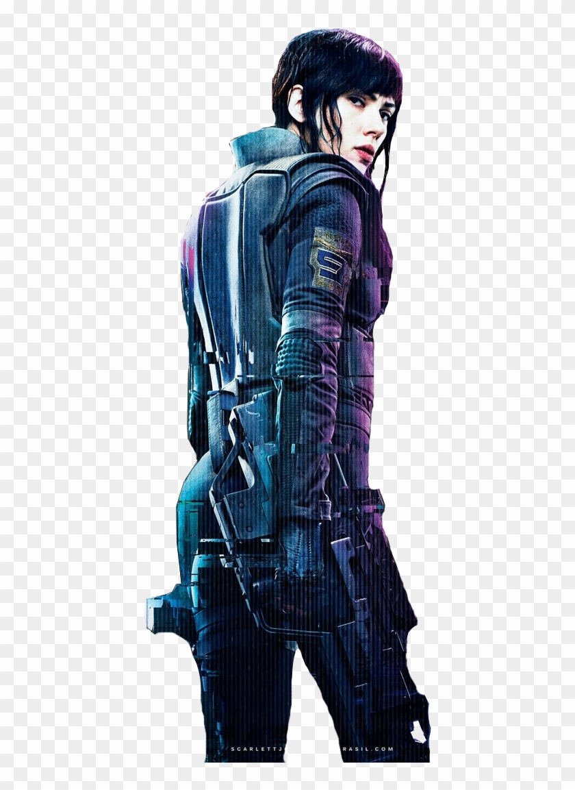 Png Ghost In The Shell Ghost In The Shell 2017 Major Clipart 46571 Pikpng