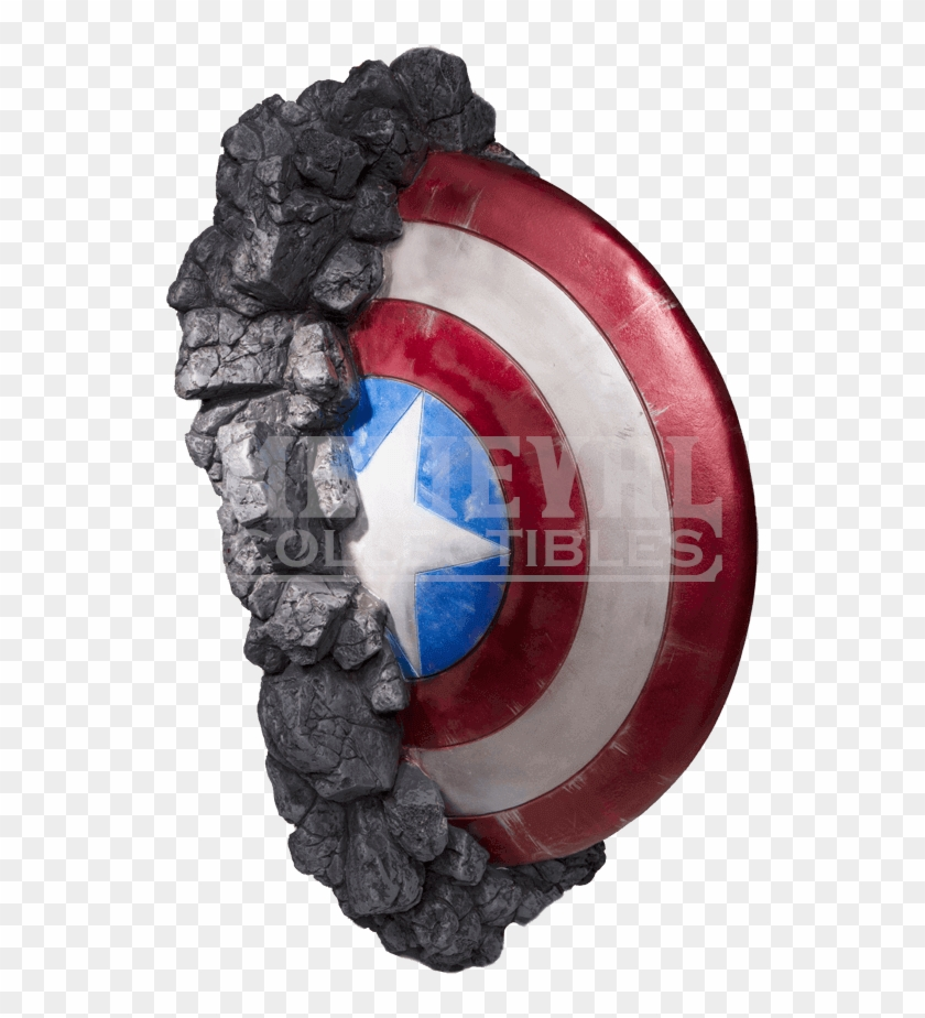 Captain America Shield Wall Breaker - Captain America's Shield Clipart #47829
