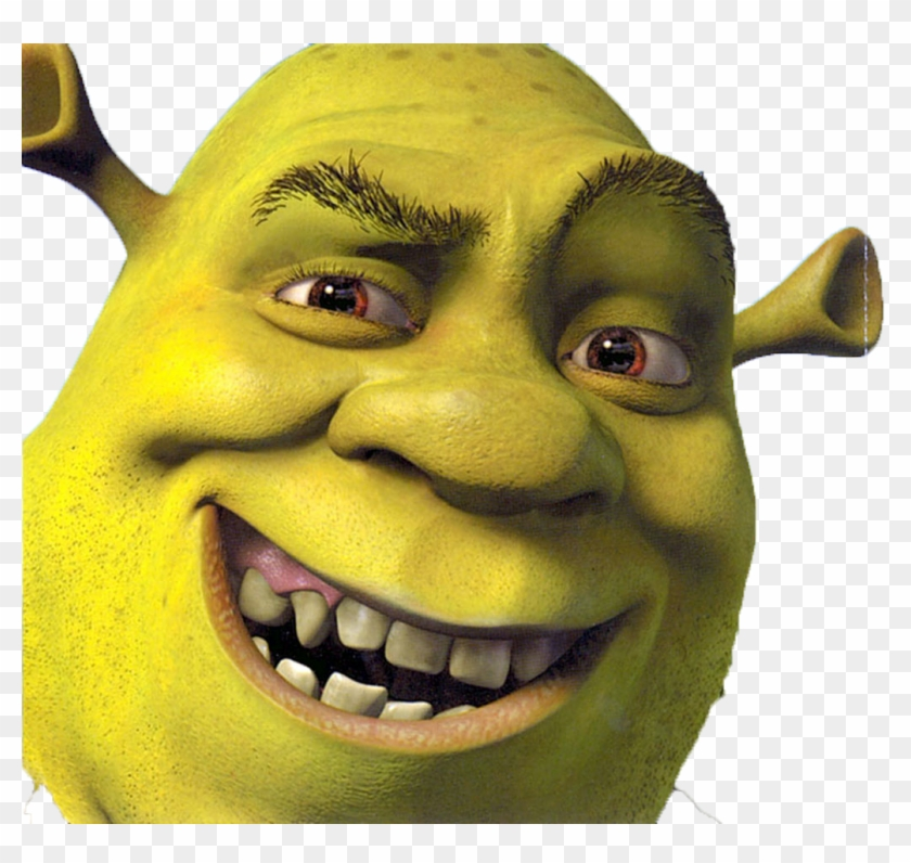 Shrek Face Png Clipart 49338 Pikpng
