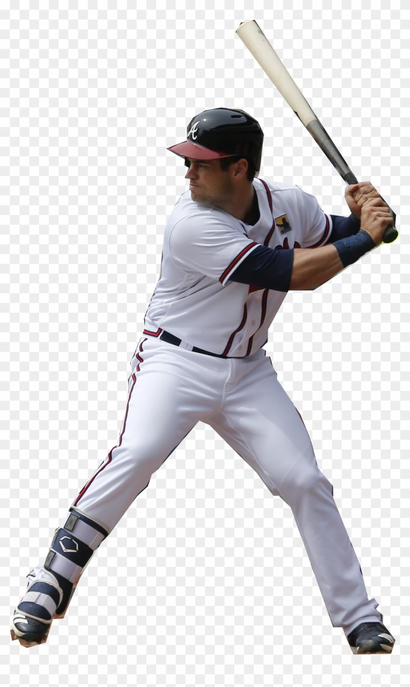 Braves Outfielder Preston Tucker - College Baseball Clipart #49901