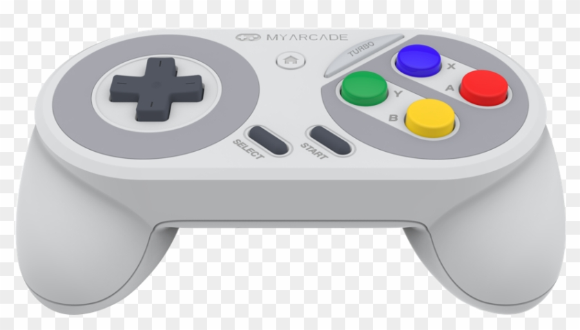 The North American Snes Classic Super Gamepad Likewise - Game Controller Clipart #401892