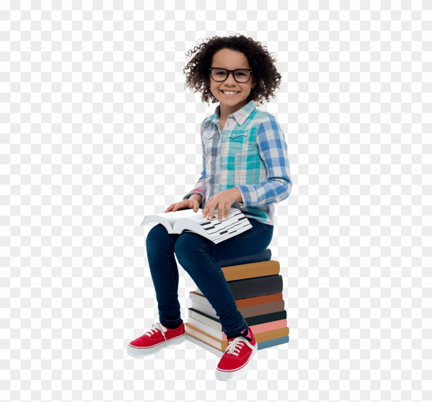 Free Png Download Young Girl Student Png Images Background - Student Sitting Png Clipart #408017