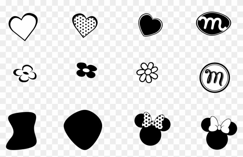 Minnie Mouse Logo Png Transparent - Logo De Mini Mouse Clipart@pikpng.com
