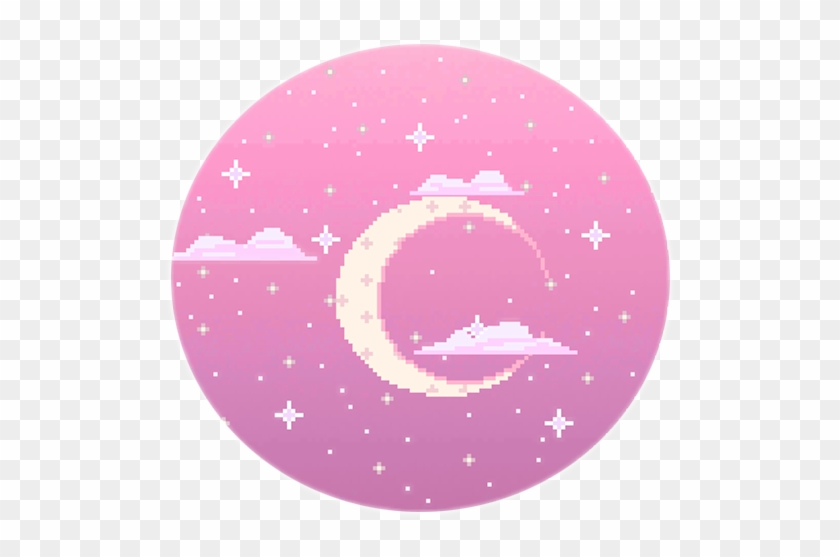 Download Aesthetic Moon And Stars Png | PNG & GIF BASE