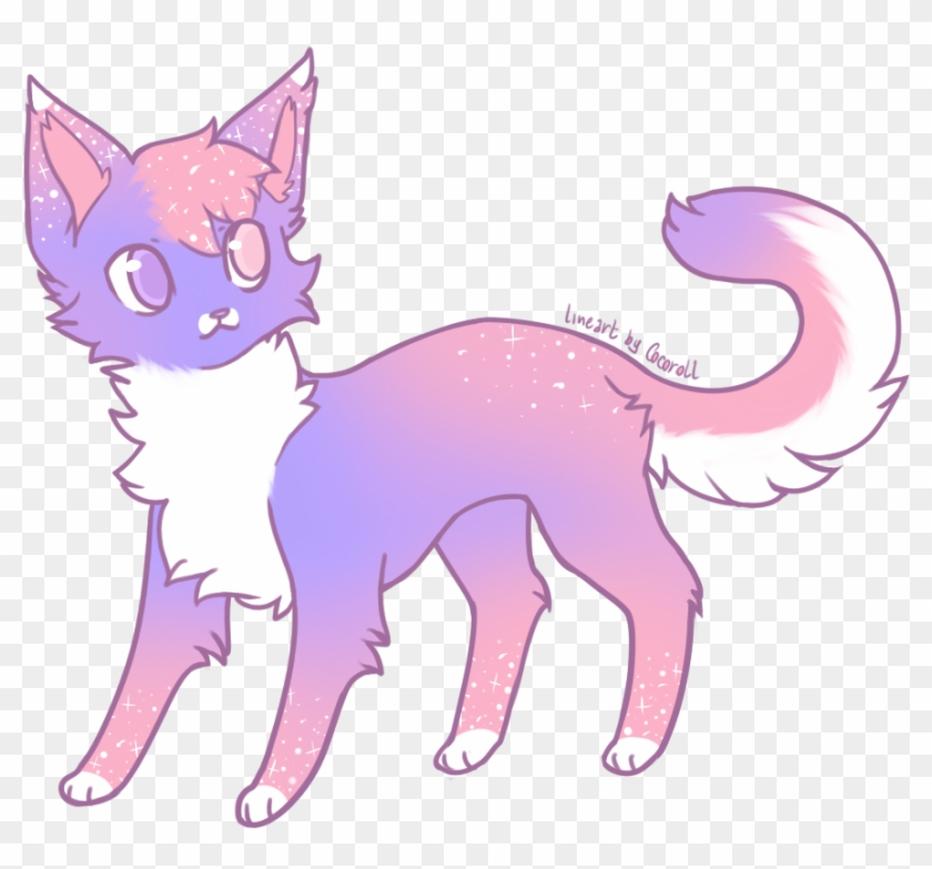 Cat Transparent Anime - Draw Anime Warrior Cats Clipart #4005659