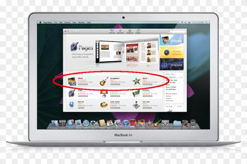 Apple Marketing Material Depicting What The Upcoming - Mac Os X Snow Leopard App Store Clipart #4012178