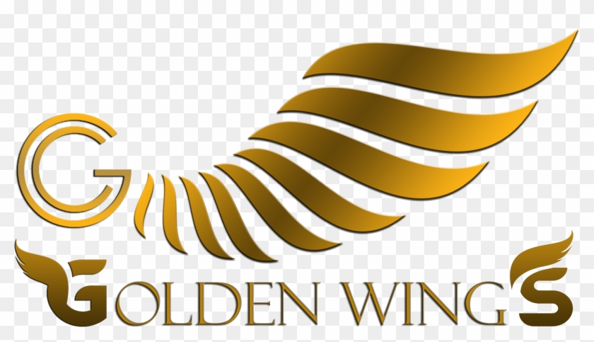 Golden Wings Help Is A Crowd Funding Forced Matrix - Graphic Design Clipart #4013394