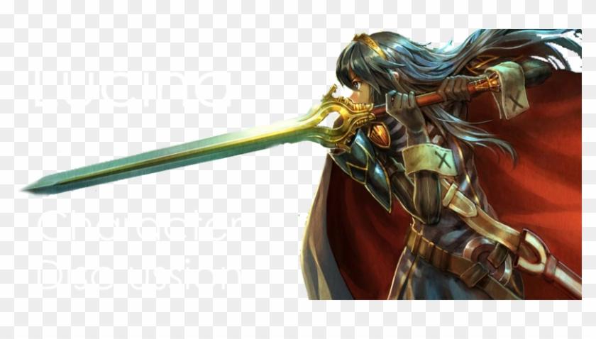 Lucina, Falchion, Fire Emblem, Awakening, Video Games, - Naga Dragon Fire Emblem Clipart #4018056