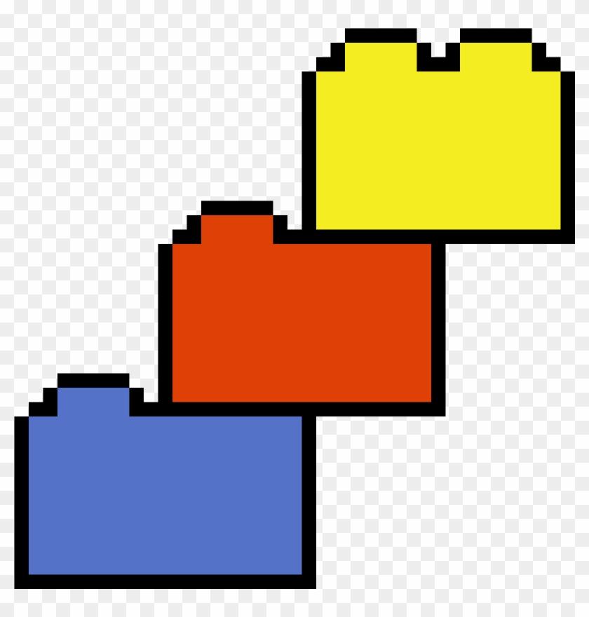 Pixel Art Lego Block Clipart #4018858