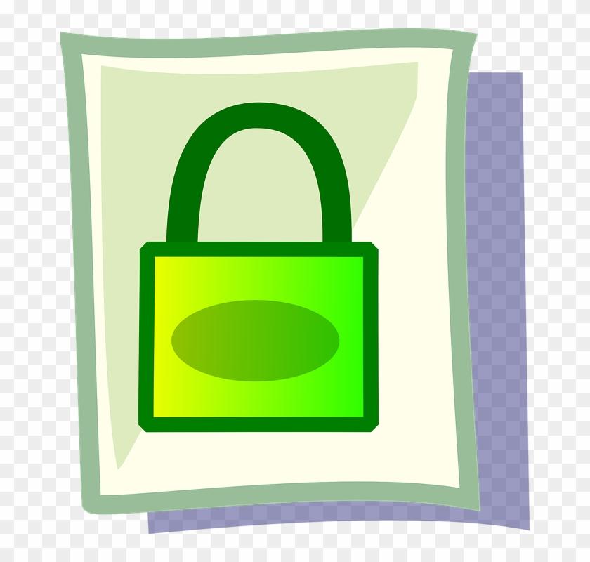 Clipart Stock Encryption Frames Illustrations Hd Images - Padlock - Png Download #4023149