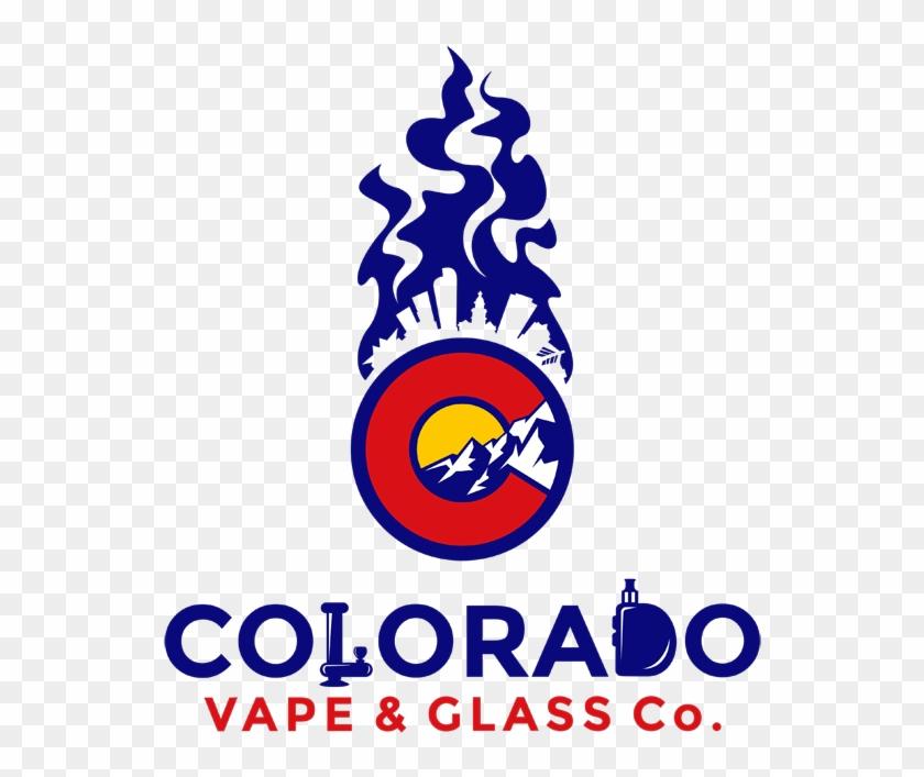 Colorado Vape And Glass Clipart #4030525
