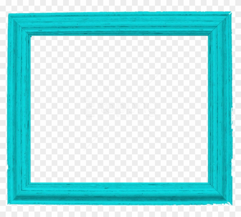 Free Png Teal Border Frame Png Pic Png - Picture Frame Clipart #4031017