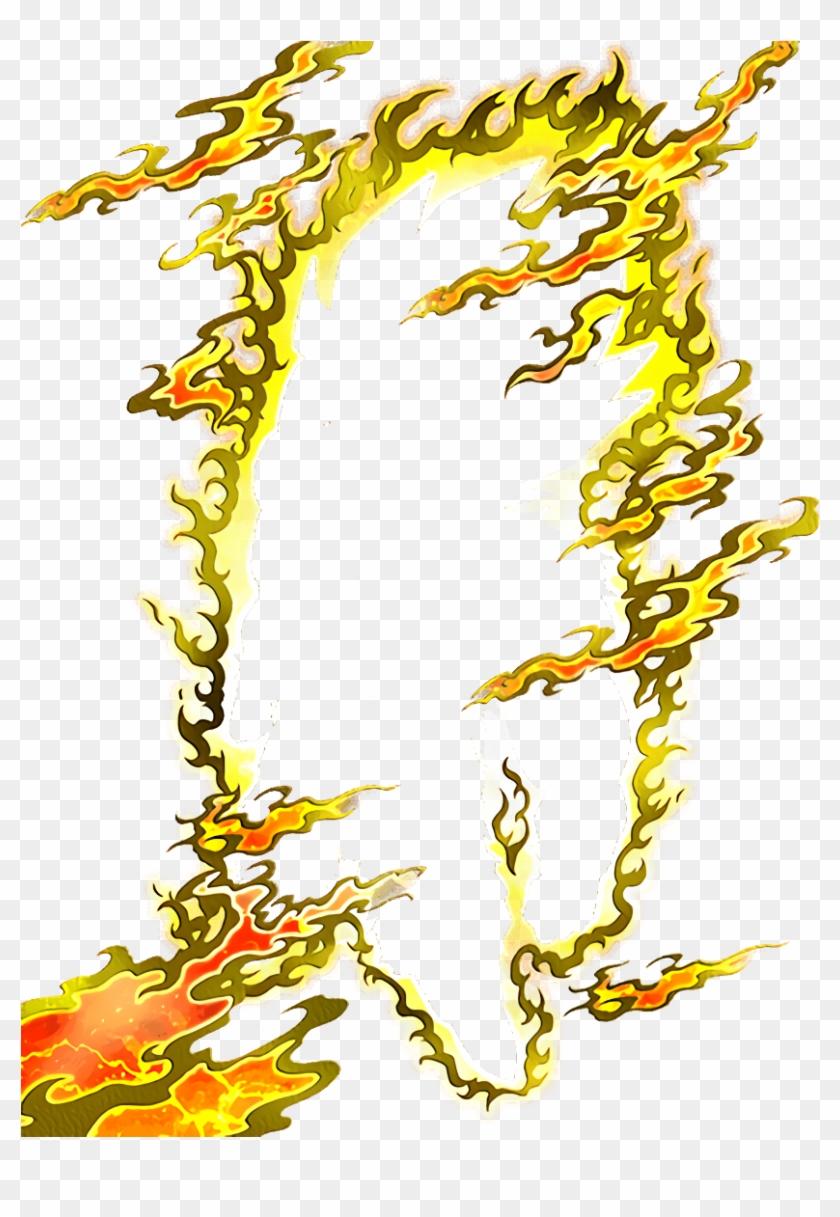 Super Saiyan Effects Png - Dokkan Battle Card Effects Clipart #4033941