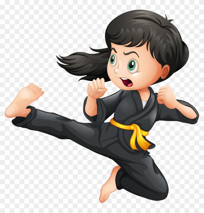 Girl Clipart Martial Arts Karate Kid Clip Art Png Download 4037536 Pikpng