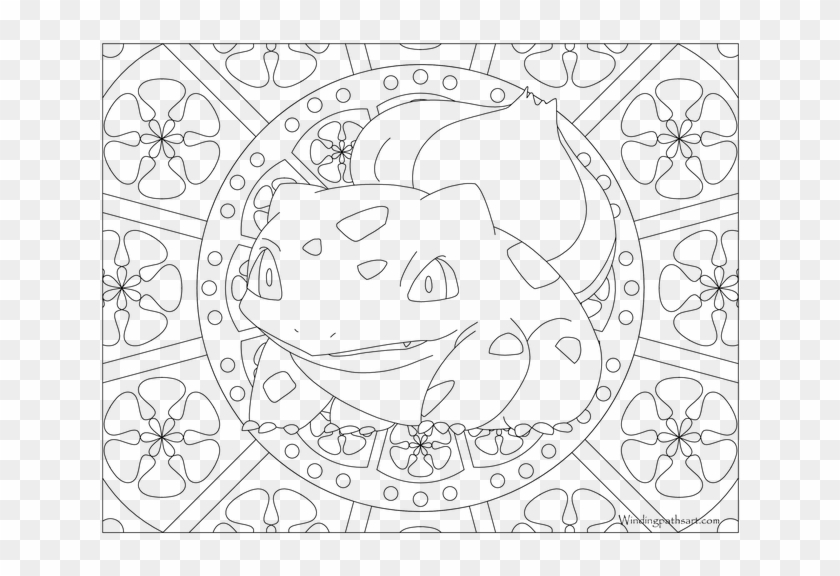 Adult Pokemon Coloring Page Bulbasaur Coloring Pages Snorlax Coloring Page Clipart 4044282 Pikpng
