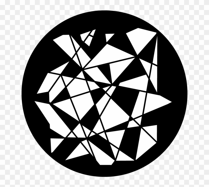 Broken Glass - Broken Glass Gobo Clipart #4059892