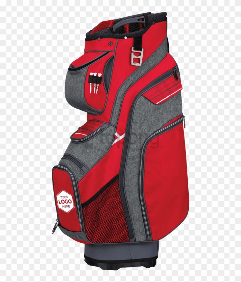 Free Png Callaway Golf Org 14 Cart Bag 2018 Red/titanium/white - Callaway Org 14 Cart Bag Clipart #4061790