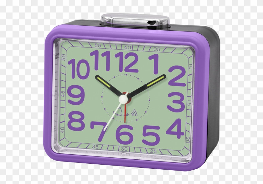 2018 Hot Selling Simple Purple Table Clock For Home - Alarm Clock Clipart #4079893