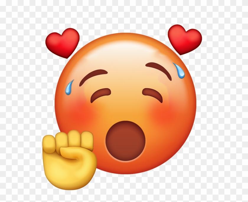Emoji Characters - Emoji De Whatsapp Babeando Clipart #4089197