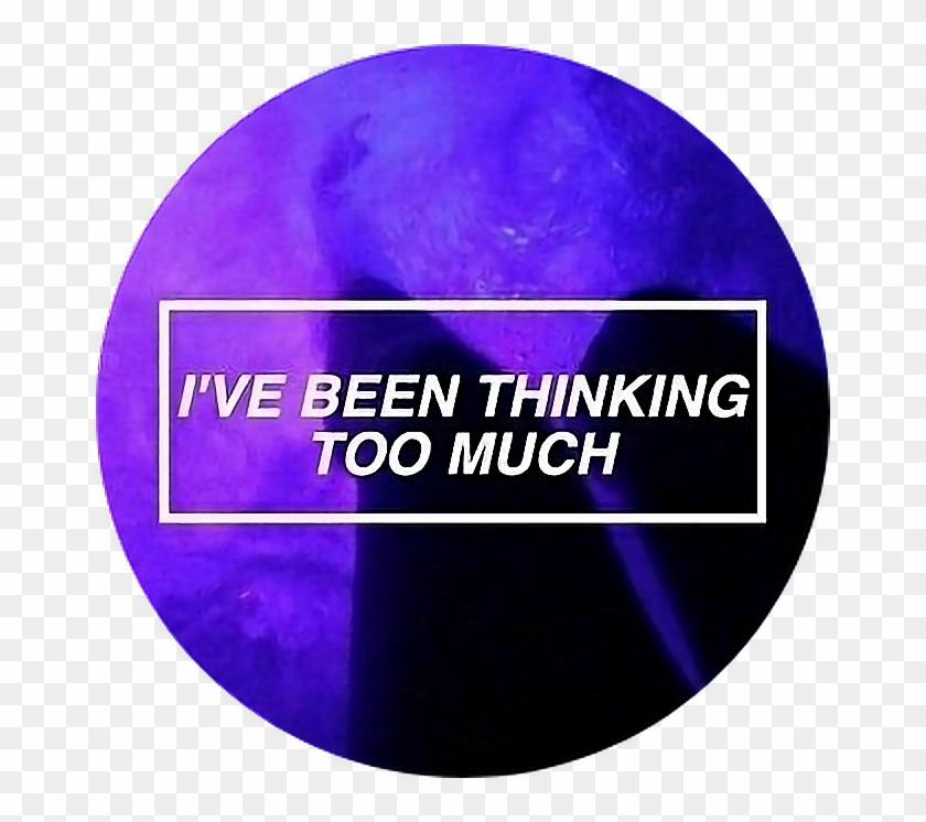 Tumblr Aesthetic Purple Quote Quotes Png Purple Tumblr Circle Clipart 413665 Pikpng