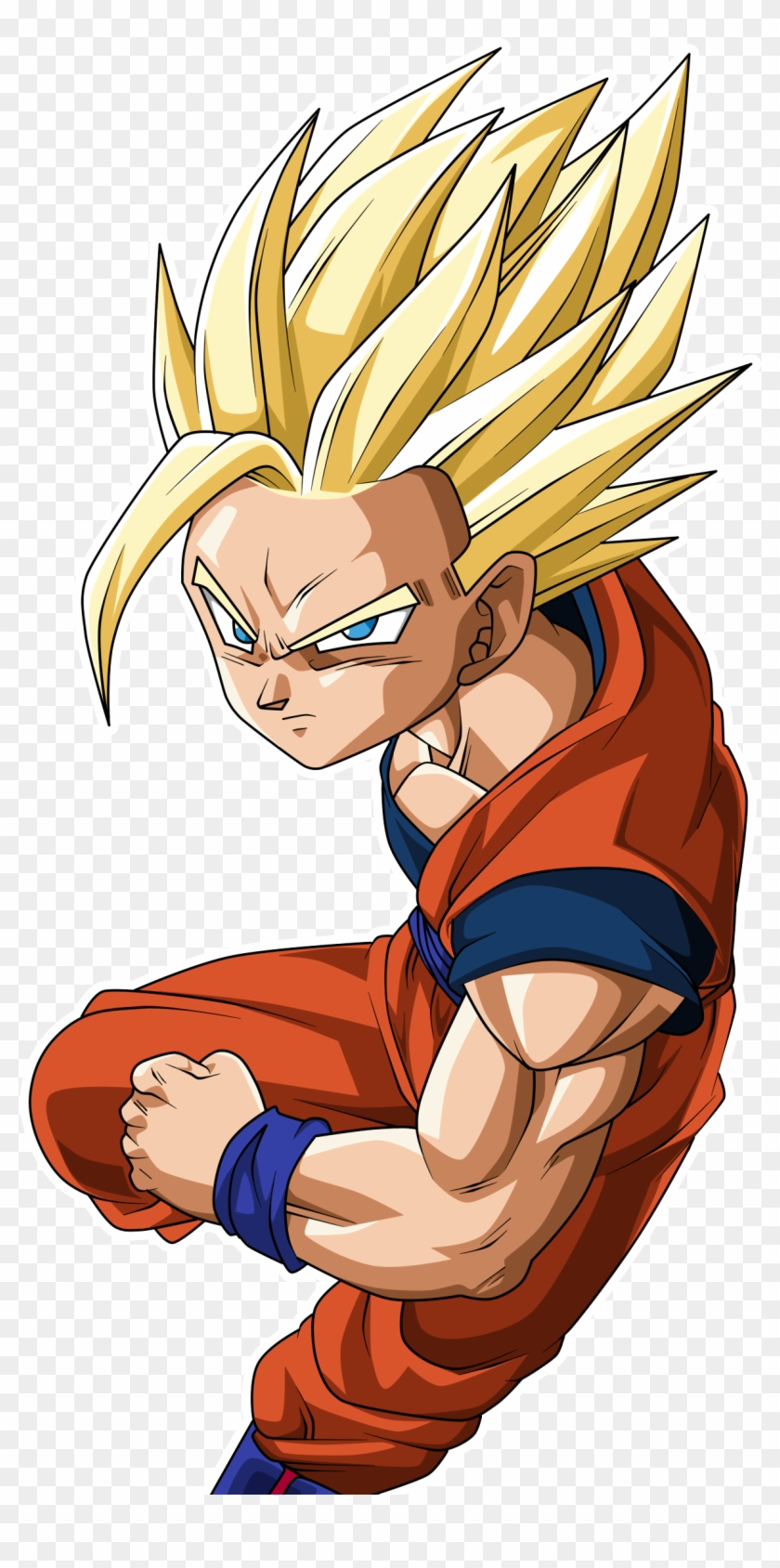Goku Clipart Super Saiyan2 Ssj Gohan Hd Png Download