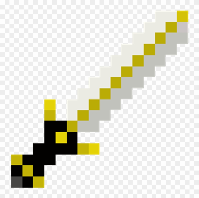 Minecraft Sword Clipart - Full Size Clipart (#2844935) - PinClipart