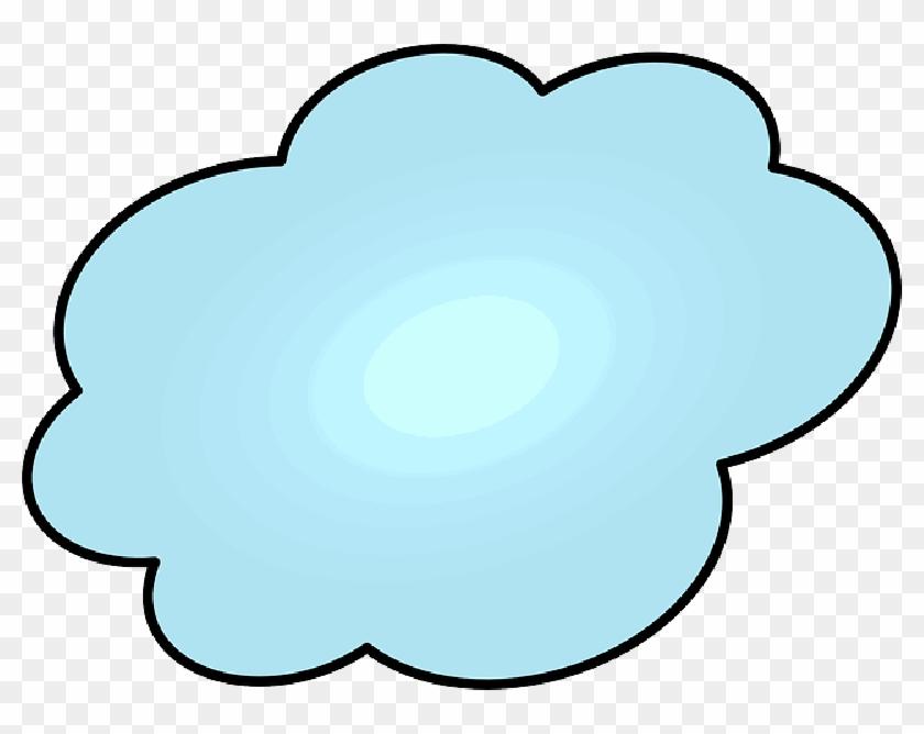 Cloud, Speech Bubble, Thinking, Idea, Speech Balloon - Bulle De Dialogue Nuage Clipart #414923