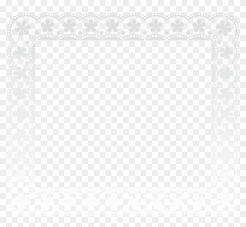 Free Png Download Lace Border Frame Clipart Png Photo - Motif Transparent Png #415196