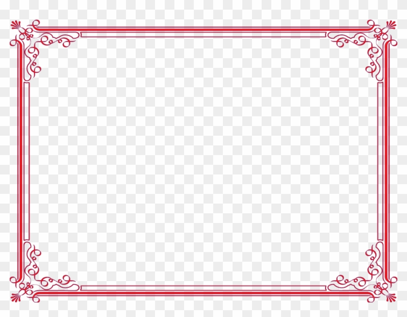 Designer Borders Png - Best In English Certificate Clipart #416622