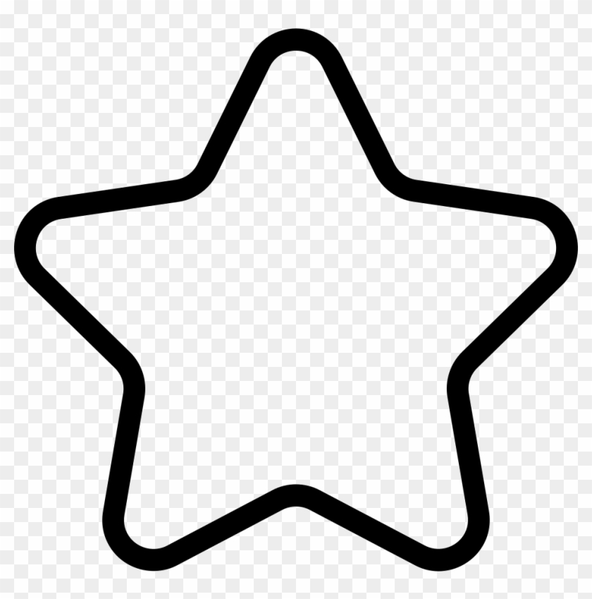 Star Outline Comments - Star Png Outline Clipart #418762