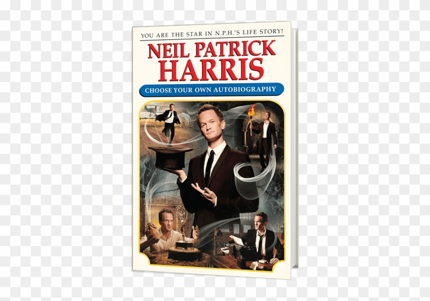 You Are Nph In Neil Patrick Harris - 1980s Choose Your Own Adventure Clipart #4101464
